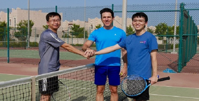 CEMSE EE Tennis Match Researchers