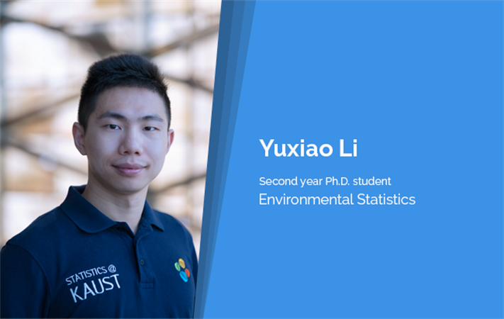 CEMSE STAT PhD Student Yuxiao Li