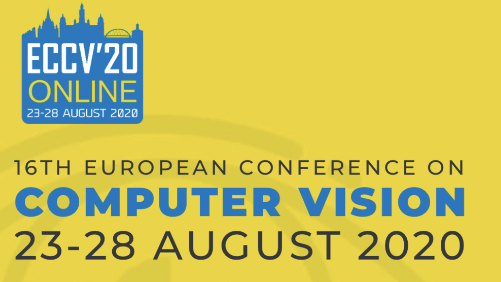 The 2020 European Conference on Computer Vision (ECCV 2020)