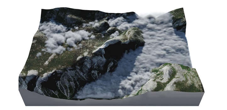 KAUST CEMSE CS CSG VCC Simulations Of High Fog Around Half Dome