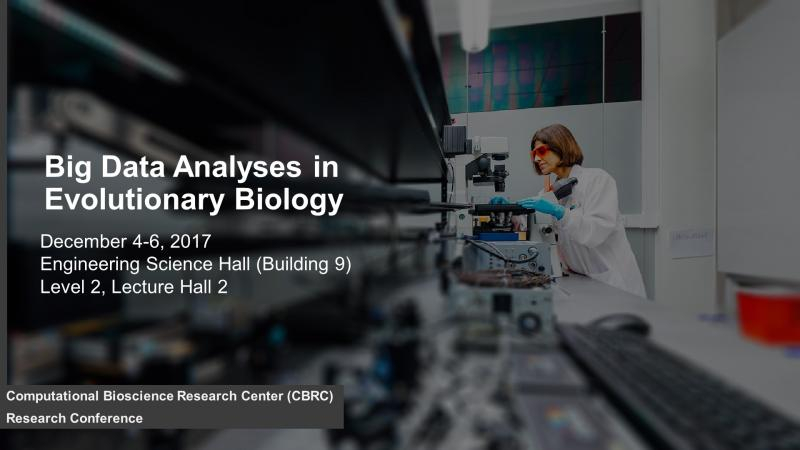 KAUST CEMSE CBRC Big Data Analyses in Evolutionalry Biology