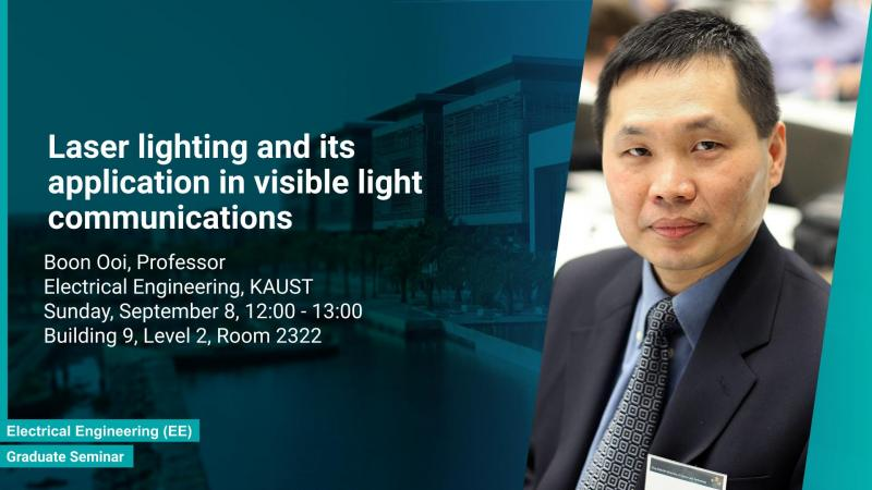 KAUST CEMSE EE Photonics Graduate Seminar Boon Ooi 8 September 2019