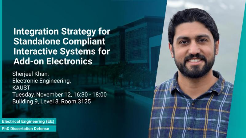 KAUST CEMSE EE PhD Dissertation Defense Integration Strategy for Add-on Electronics