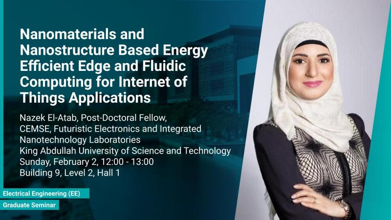 KAUST CEMSE EE Graduate Seminar 2020 02 02 Nazek El Atab Energy Efficient Edge Computing for IoT