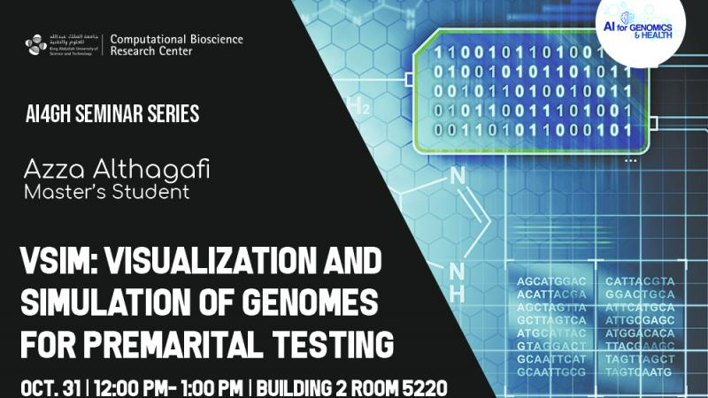 KAUST CEMSE CS BORG Visualization and Simulation of Genomes