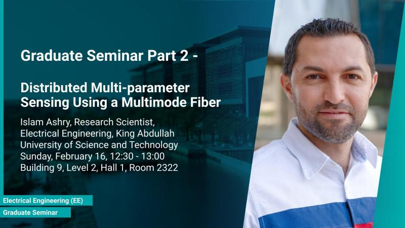 KAUST CEMSE EE Graduate Seminar part 2 Islam Ashry Distributed Multi-parameter Sensing Using a Multimode Fiber