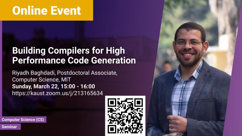 KAUST CEMSE CS Seminar Riyadh Baghdadi Building Compilers for High-Performance Code Generation