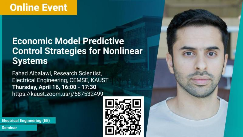 KAUST CEMSE EE Seminar Fahad Albalawi Economic Model Predictive Control Strategies for Nonlinear Systems