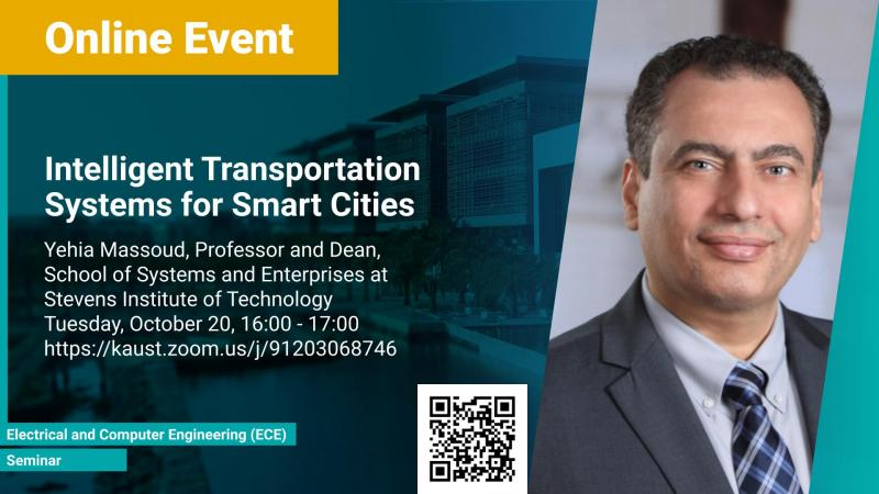 KAUST CEMSE Seminar Yehia Massoud Intelligent Transportation Systems for Smart Cities