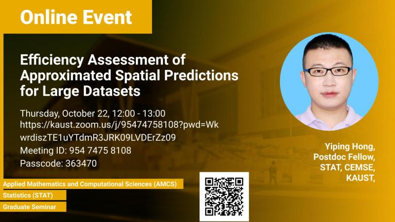 KAUST CEMSE Graduate Seminar Yiping Hong Efficiency Assessment