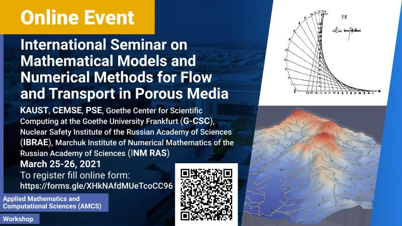 KAUST CEMSE AMCS MaS Workshop Mathematical Models and Numerical Methods for Flow and Transport in Porous Media