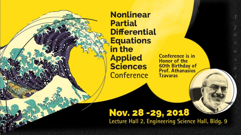 Athanasios-Tzavaras-Nonlinear-Partial-Differential-Equations-in-the-Applied-Sciences-Conference-2018