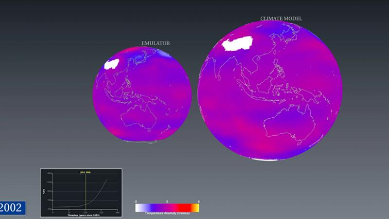 CEMSE AMCS Comparison Of Global Temperature
