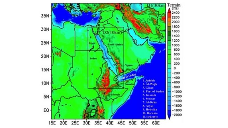 CEMSE AMCS STAT ECRC Reconstructing The Red Sea Climate Pattern