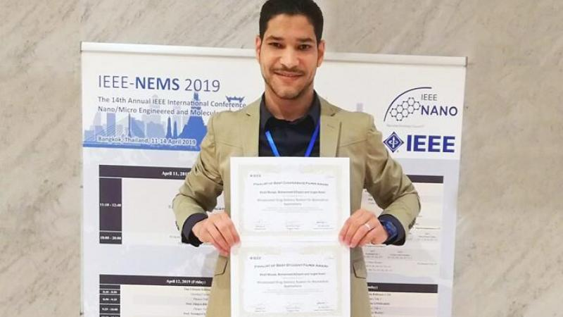 CEMSE EE Khalil Moussi Won Two Awards
