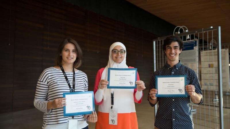 KAUST CEMSE CBRC Student Poster Winners On Big Data Analyses