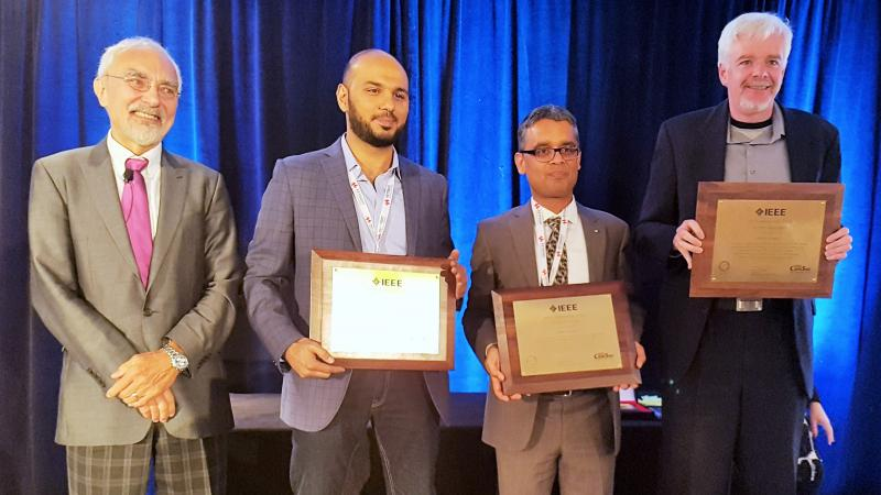 KAUST CEMSE CTL EE Hesham ElSawy Wins IEEE Communication