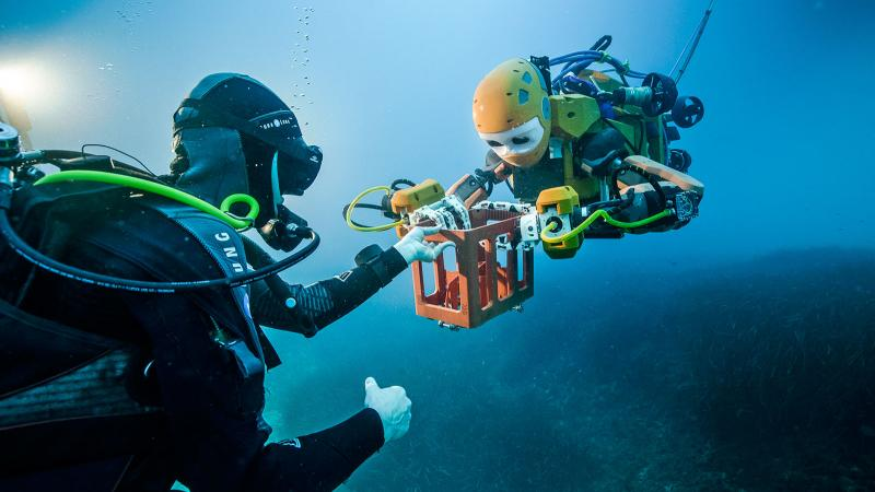 KAUST CEMSE EE SI SENSORS KAUST Born Robotic Avatar Sets New Era For Undersea Archaeology