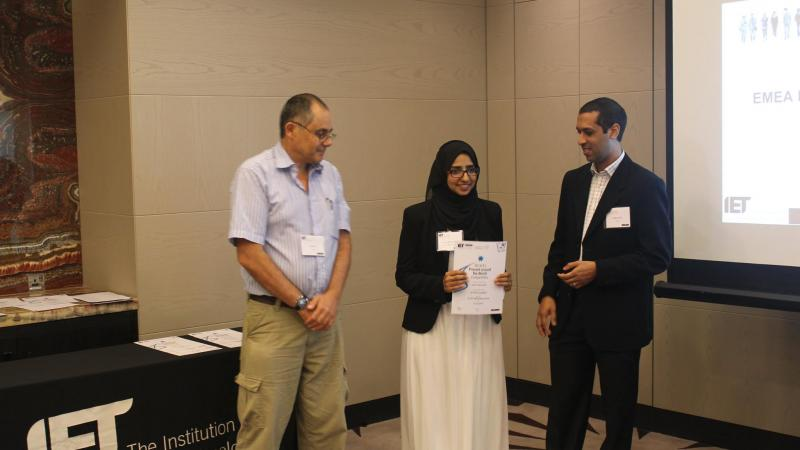 KAUST CEMSE EE SMM Hanan Mohammed Wins PATW Competition