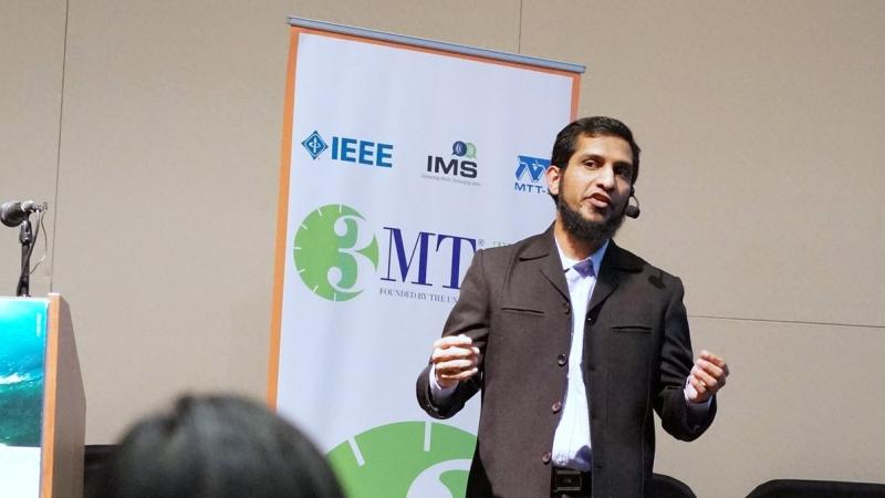 KAUST CEMSE EE Two KAUST Students Selected For The Three Minute Thesis Farhan Abdul Ghaffar