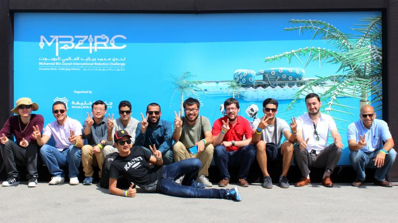 KAUST CEMSE RISC EE SI CNR Team KAUST Places 3rd At The MBZIRC