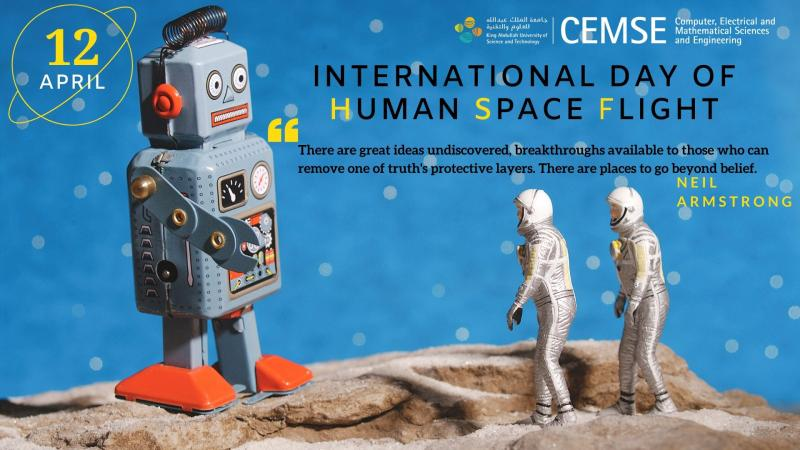 KAUST CEMSE International Day of Human Space Flight