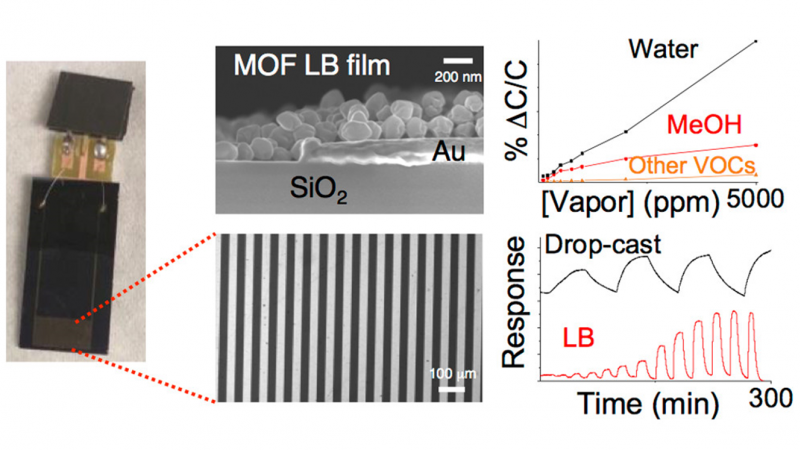 Methanol and Humidity Capacitive Sensors Based on Thin Films of MOF Nanoparticles.png