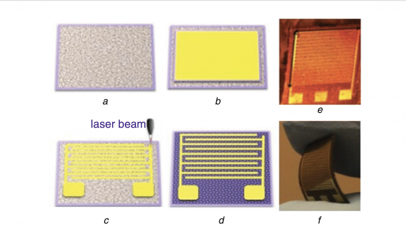 Flexible low-cost cardiovascular risk marker biosensor for point-of-care applications