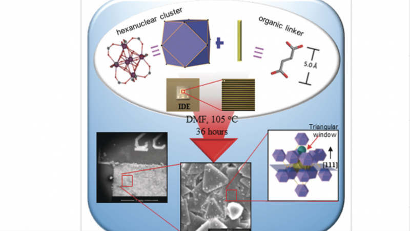 H2S Sensors: Fumarate‐Based fcu‐MOF Thin Film Grown on a Capacitive Interdigitated Electrode