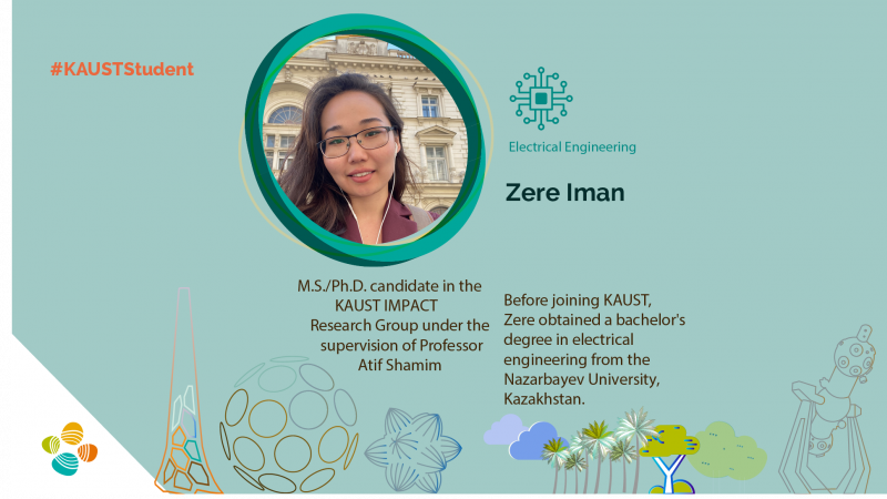 KAUST CEMSE EE IMPACT Zere Iman Student profile