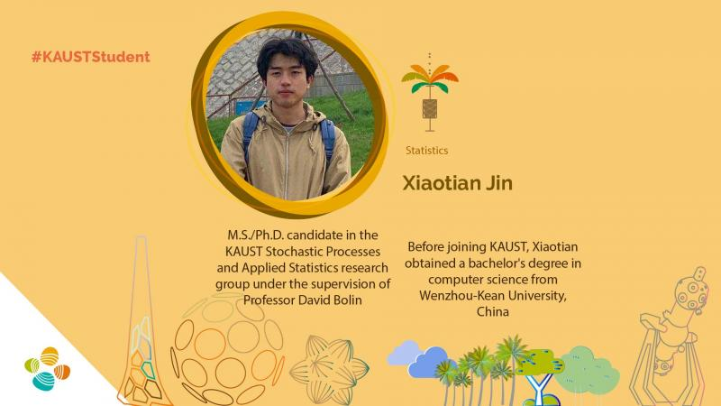 KAUST CEMSE STAT STOCHPROC Xiaotian Jin Student Profile