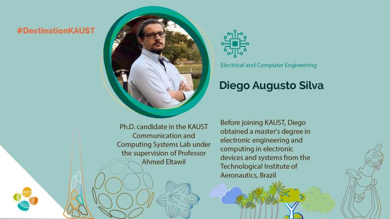 KAUST CEMSE ECE CCSL Diego Augusto Silva Student profile