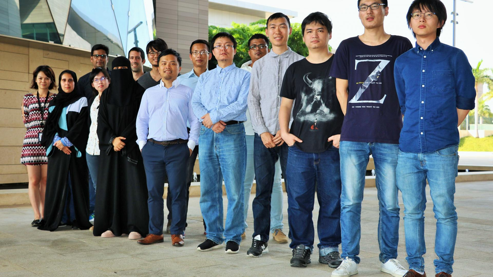 CEMSE EE SI Jr Hau He KAUST-Associate Professor Of Electrical Engineering With His Nano Energy Lab Research Group