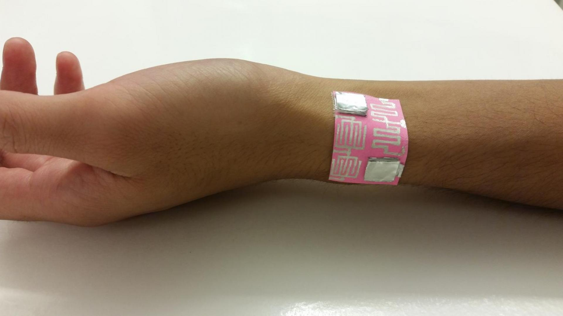 KAUST CEMSE EE MMH LAB FABLAB Wrist Sensor For Health Screening