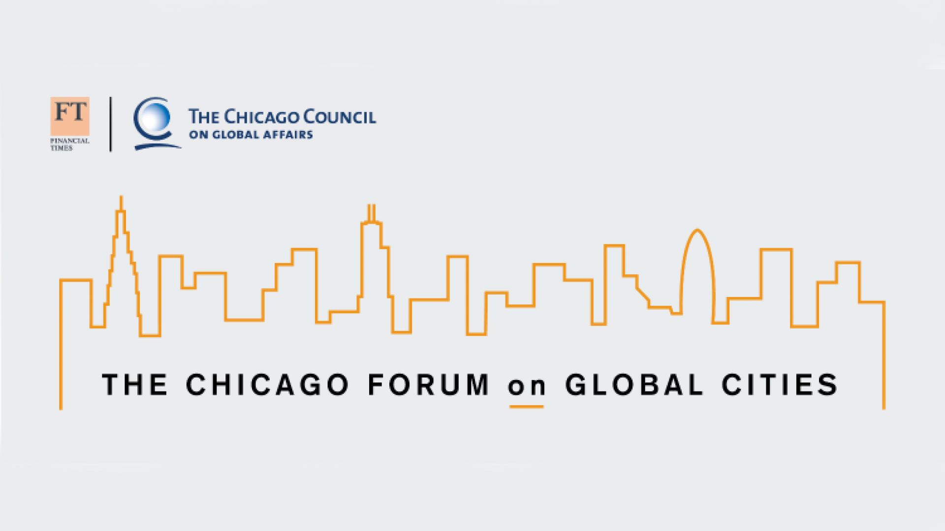 Chicago Global Cities Forum Logo
