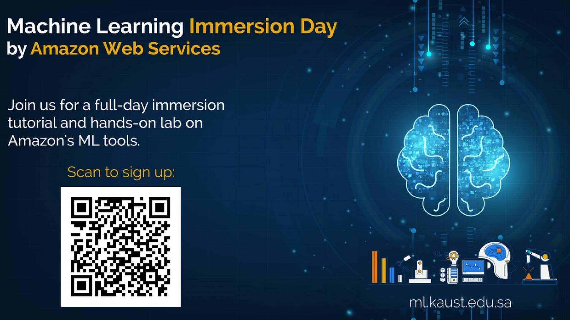 KAUST CEMSE AI Tutorial Amazon Web Services ML Immersion Day