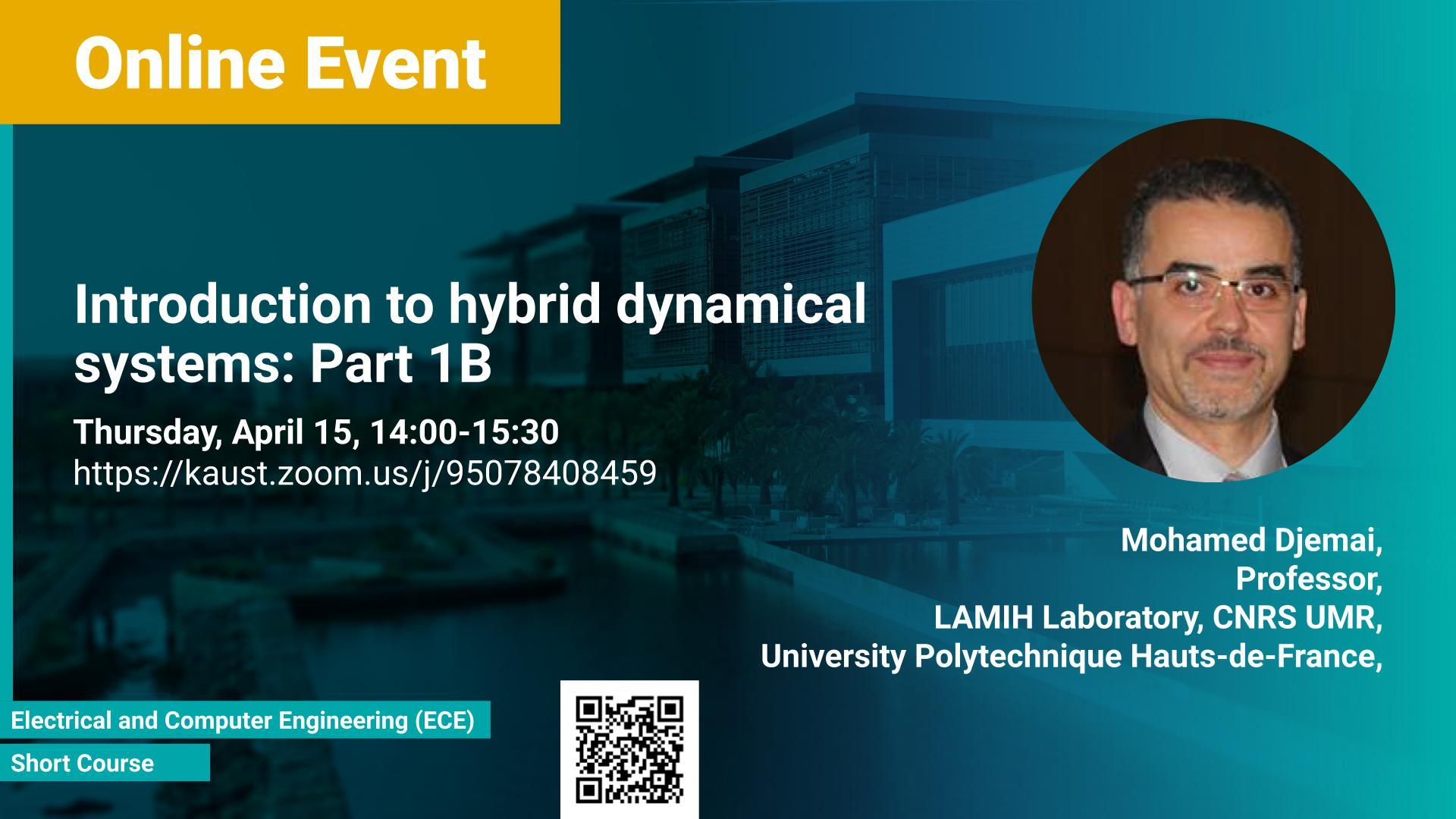 KAUST-CEMSE-EE-Short Course Part1B -Mohamed Djemai